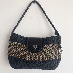 Brighton Basket Weave Purse Shoulder Bag